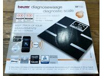 Beurer BF700 Diagnostic Bathroom Scales with Bluetooth Smart and Health Manager