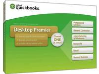 Genuine Sealed QuickBooks Premier Accountant Edition 2018 UK + License Key For PC/macOS