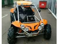 Road legal PGO BR500i buggy