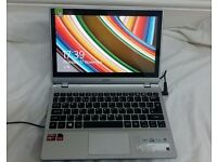 Acer Aspire V5-122P 11.6-inch Touchscreen Laptop (Silver) - (AMD A4 1GHz, 4GB RA