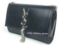 Small Ysl Clutch Size Shoulder Chain Strap Handbag £40 Lv Bag