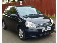 Toyota Yaris 2004 54Reg 1.0L 5-DOOR 112K Miles T Sprit Spec MOT 09/07/2018 Black 2x Factory Keys
