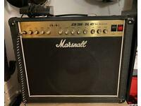 Marshall JCM 2000 DSL 401 40 Watt Combo Valve Tube Amplifier with Foot switch