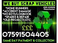 Scrap Vehicles Wanted! £50-£5000!