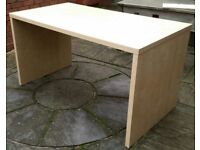 ikea desk. 140cm x 75cm. In good condition.
