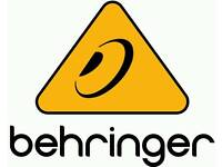 Wanted faulty Behringer mixing desks