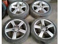 """18"""" alloy wheels. 5 stud."""