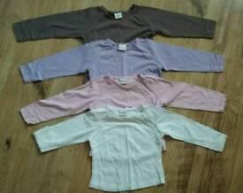 Next girls tshirts age 3-4 years