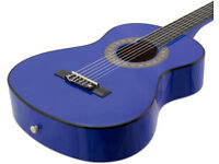 Tiger 1/2 Size Classical Guitar - Blue - Boxed - Unused