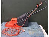 Flymo Electric Lawn Mower & Grass Box