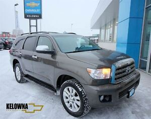 2010 Toyota Sequoia Platinum 5.7L V8, Heated and Cooled Leather,