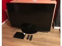 LG 47 INCH FULL HD TV + BLU RAY PLAYER! BARGAIN!