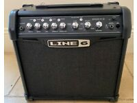 Line 6 Spider IV 15 Guitar Amp Combo Amplifier.