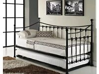Day bed French metal frame