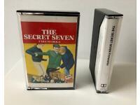 Rare 1985 Audio Cassette Book Secret Seven Fireworks by Enid Blyton