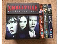 Smallville Seasons 1-10. Complete series.