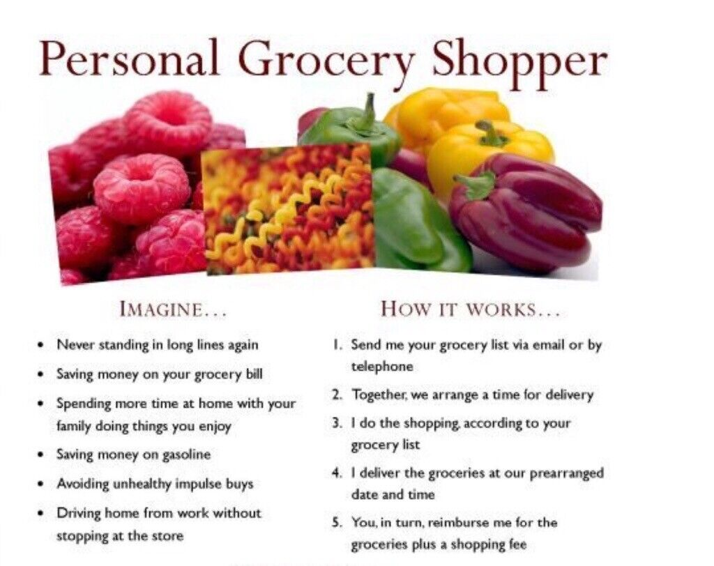 Personal grocery shopper | in Southampton, Hampshire | Gumtree