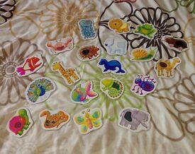 Animal jigsaw (each jigsaw is a 2 piece jigsaw)