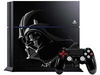 Star Wars PS4 Darth Vader Console