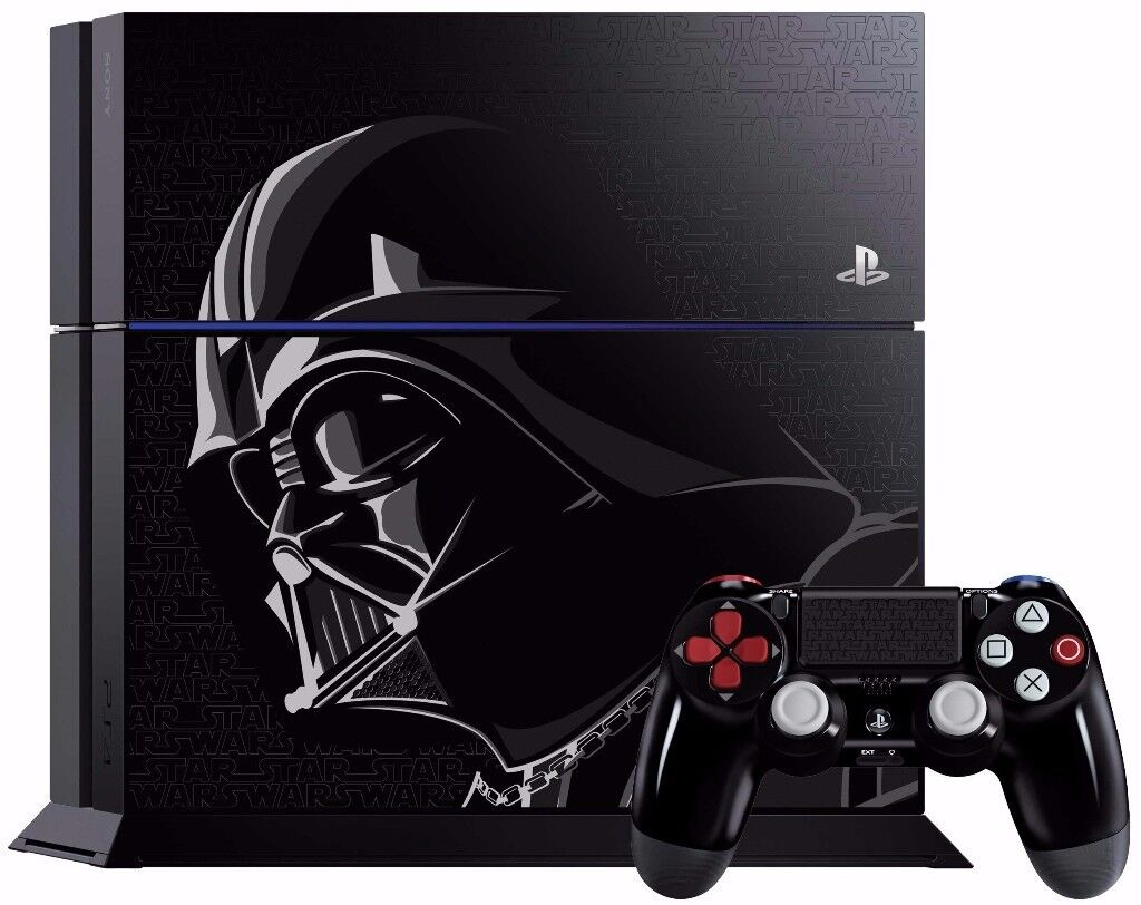 PS4 CONSOLE - STARWARS LIMITED EDITION - USED- 1TB - CAN BE EXCHANGED IN STORE