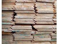 £1.15 per meter EXTRA THICK T+G A* Grade Scandinavian Timber Cladding Flooring redwood boarding