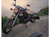 Yamaha Virago 125cc bobber