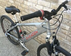 15 inch Sarracen X-ile small frame MTB Hybrid bicycle bike