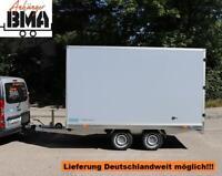 Kofferanhänger Hapert Sapphire Hochlader 2700kg 335x180x180 grau Baden-Württemberg - Tannheim Vorschau