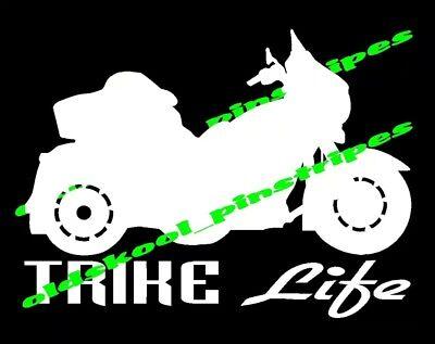 Street Glide Trike Free Touring Motorcycle Custom Vinyl Decal Window Sticker