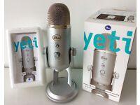 Microphone Blue Yeti Silver