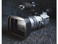 Sony DCR VX2100E video camera - with original box & accessories
