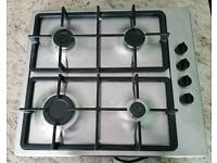 Neff T21S36N1 Four Burner Gas Hob in Stainless steel
