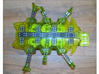 Complete HEXBUGS Vex Robotics Scarab RC Toy Remote Control Construction Robot
