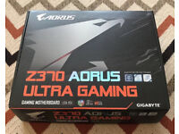 Gigabyte Z370 ultra gaming open to offers!