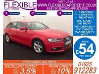 2014 AUDI A4 AVANT 2.0 TDI SE TECHNIK GOOD / BAD CREDIT CAR FINANCE AVAILABLE