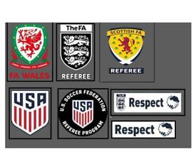 FA REFEREE BADGES LOGO DECAL