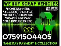 Scrap Cars & Mot Failures Wanted!