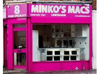 EXPERIENCED IT APPLE PC COMPUTER MOBILE PHONE TABLET REPAIR SALES TECHNICIAN JOB @ MINKO MACS LONDON