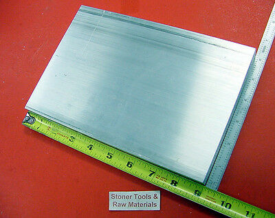 34 X 6 Aluminum 6061 Flat Bar 9 Long T6511 Solid Extruded Plate Mill Stock