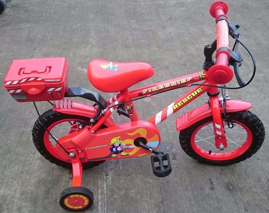 "12.5"" Firechief Rescue Bike with Stablizers"