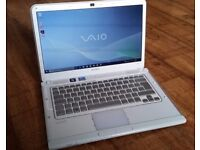 Sony Vaio VPCCA2S0E Intel i3 2.1Ghz Laptop 4GB RAM 500GB Windows 10 Backlit Keys