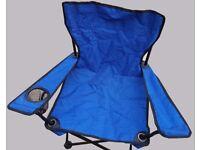 2 Children's foldable camping chairs / beach / garden etc
