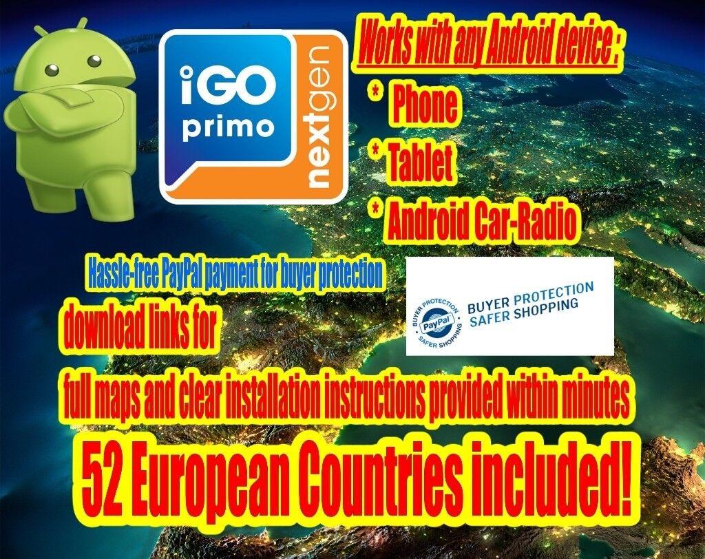 iGO NextGen For Android Phone, Car-Radio | in Leeds, West Yorkshire |  Gumtree