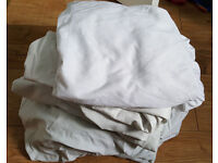Toddler bed bedding- 4 fitted sheets & 4 mattress protectors