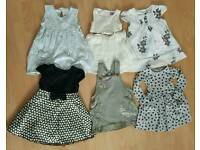Dresses sizes from 9 up to 24 months