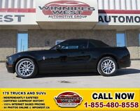 2014 Ford Mustang 305 Hp, Tripple Black Convertible, Power Leath