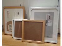 BATCH OF PICTURE FRAMES VARIOUS SIZES