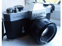 Yashica TL Electro with 50mm prime lens