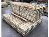 🐌 Straight Top Pressure Treated High Quality Wooden Garden Fence Panels