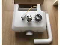 Concealed Dual Flush Cistern with Push Button.